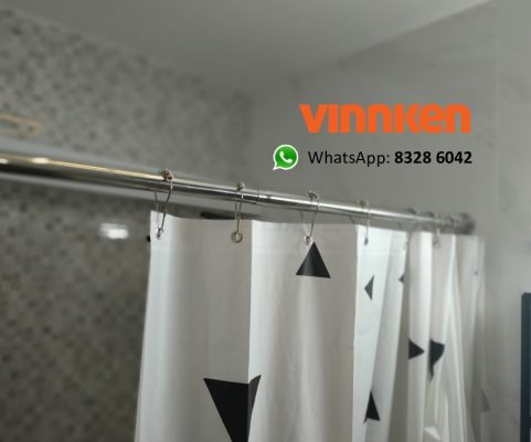 Stainless Steel Shower Curtain Rods